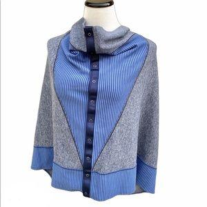 Lululemon Vinyasa Scarf parallel stripe wrap shawl